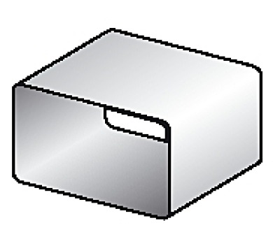 BEST 520WH čtyřhranný 204x60mm