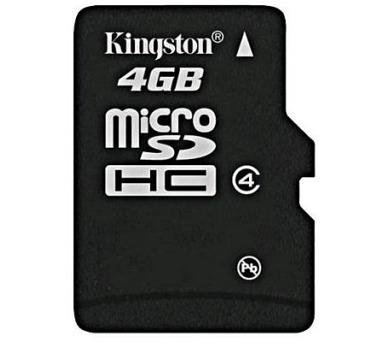 Kingston MicroSDHC 4GB Class4
