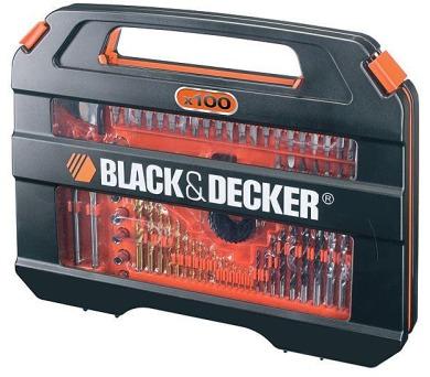 Sada vrtáků a bitů Black&Decker A7154 100 dílná + DOPRAVA ZDARMA