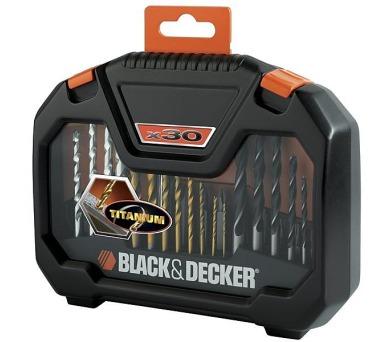 Sada vrtáků a bitů Black&Decker A7183 30 dílná