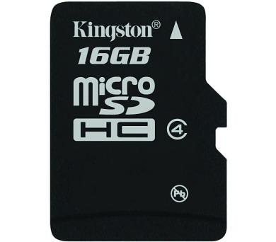 Kingston MicroSDHC 16GB Class4