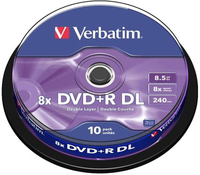 Verbatim DVD+R DualLayer