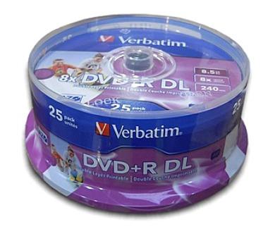 Verbatim DVD+R DualLayer + DOPRAVA ZDARMA