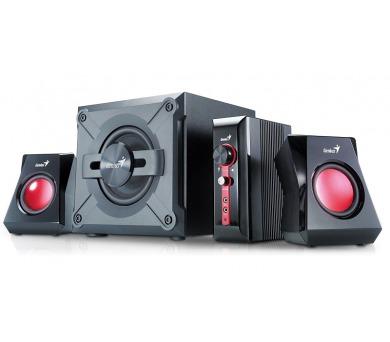 Genius GX Gaming SW-G2.1 1250 - černé/červené + DOPRAVA ZDARMA