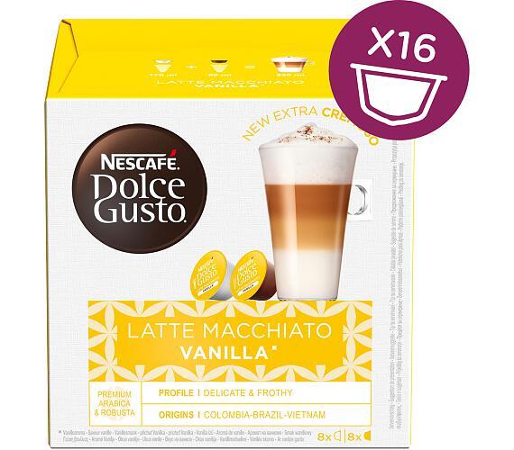 NESCAFÉ Latté Macchiato Vanilla 16 ks k Dolce Gusto