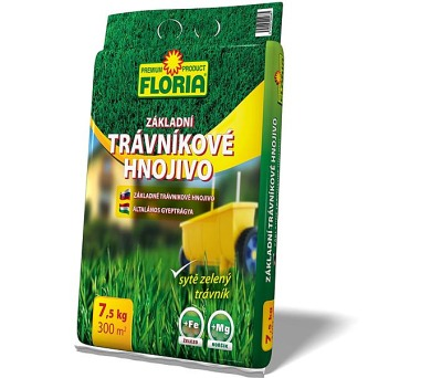 Agro FLORIA Trávníkové základní 7,5 kg