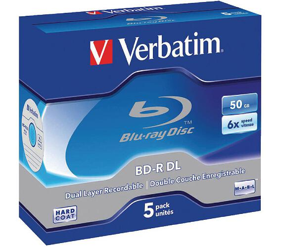 Verbatim BD-R DualLayer 50GB + DOPRAVA ZDARMA