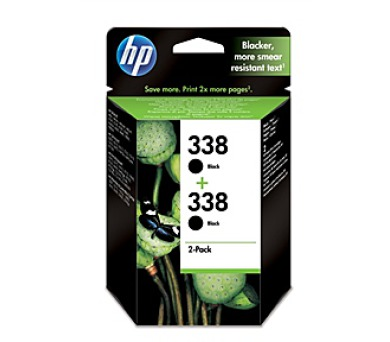 Inkoustová náplň HP No. 338
