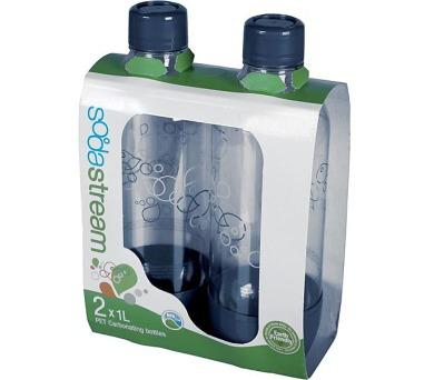 SodaStream plastová šedá 1l (2ks)