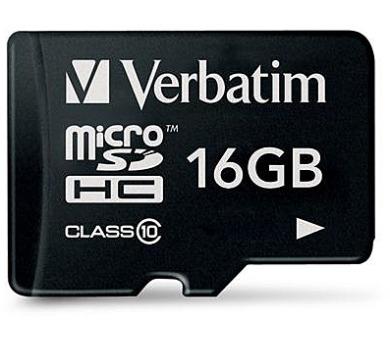 Verbatim Micro SDHC 16GB Class 10