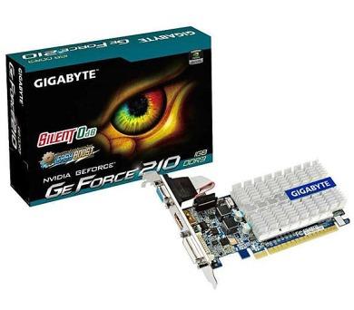Gigabyte GeForce GT210 1GB GDDR3 (GV-N210SL-1GI) 64bit