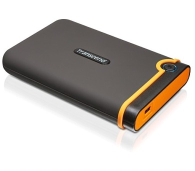 Transcend StoreJet 25M2 500 GB - černý/oranžový