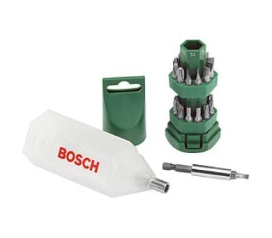 Bosch 25 dílná šroubovacích bitů