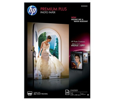 Papíry do tiskárny HP Premium Plus Glossy Photo A3