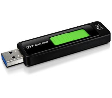 Transcend JetFlash 760 16 GB USB 3.0 - černý/zelený
