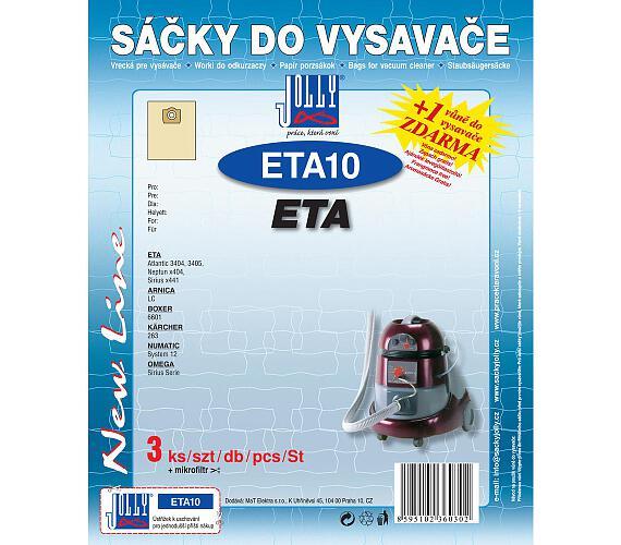 Jolly ETA 10 (3+1ks) do vysav. ETA