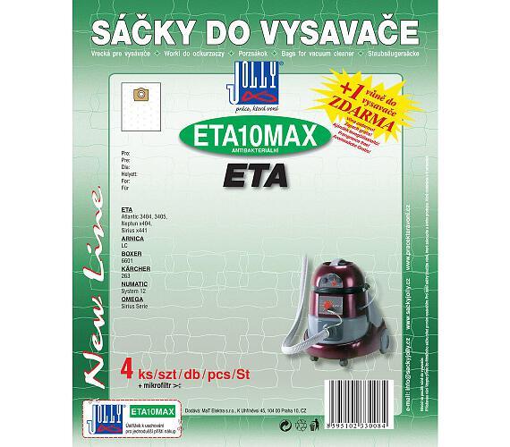 Jolly MAX ETA 10 (4+1ks) do vysav. ETA