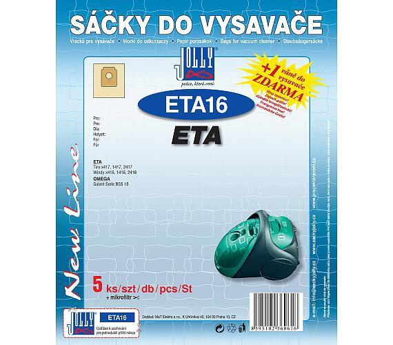 Jolly ETA 16 (5+1ks) do vysav. ETA