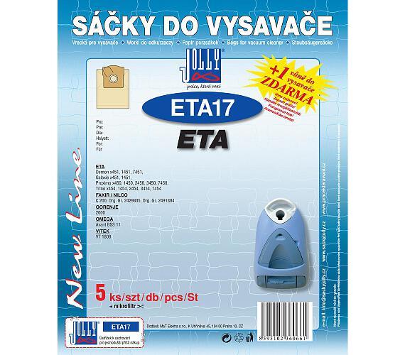 Jolly ETA 17 (5+1ks) do vysav. ETA
