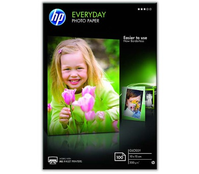 Fotopapír HP Glossy Photo 10x15