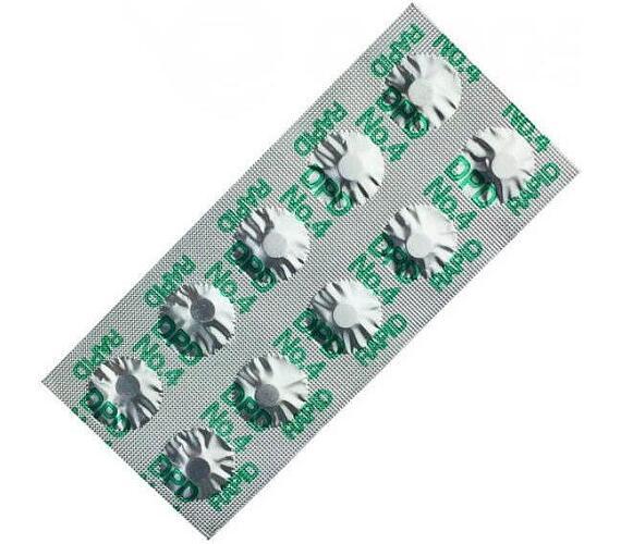 Tablety (DPD4) do testru náhr.na O2 (10ks)