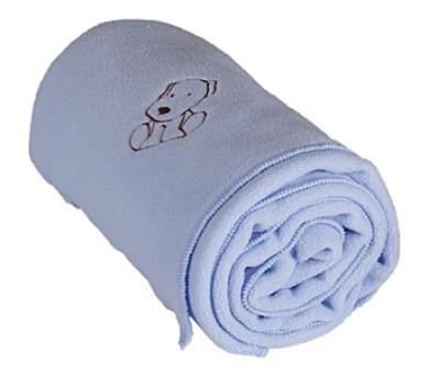 Kaarsgaren fleece s pejskem modrá