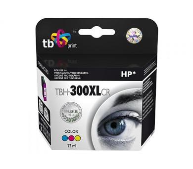 TB HP CC644EE (No.300XL) Color kompatibilní - červená/modrá/žlutá + DOPRAVA ZDARMA