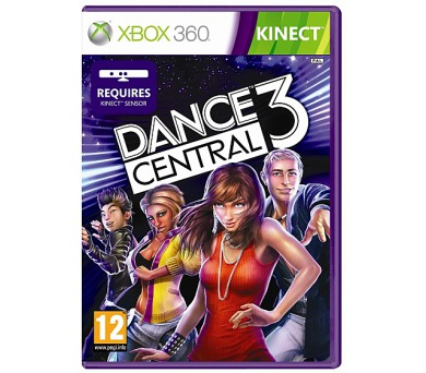 Microsoft Xbox 360 Dance central 3 (Kinect ready)