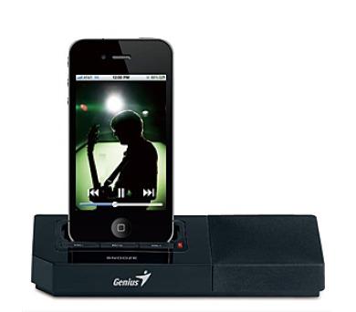 Genius SP-i500 pro iPhone/iPod - černý + DOPRAVA ZDARMA