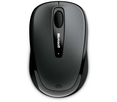 Microsoft Wireless Mobile Mouse 3500 Black / optická / 3 tlačítka / 1000dpi - černá