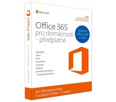 Microsoft Office 365 pro domácnosti CZ