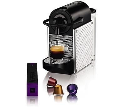 DeLonghi Nespresso EN 125 M Pixie Steel dots + DOPRAVA ZDARMA