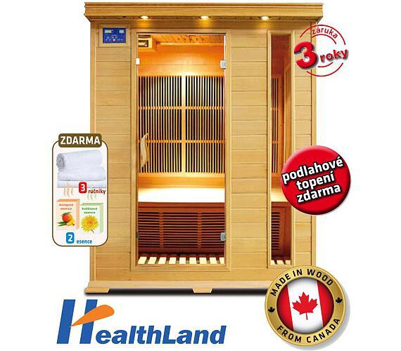 HealthLand DeLuxe 3003 Carbon + Záruka 3 roky