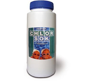 v-garden Chlor šok PE dóza 2,5 kg