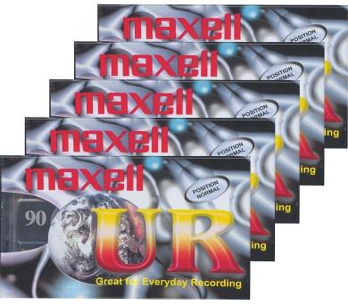 Maxell UR 90 5PK 124036