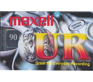 UR 90 audiokazeta 124004 maxell