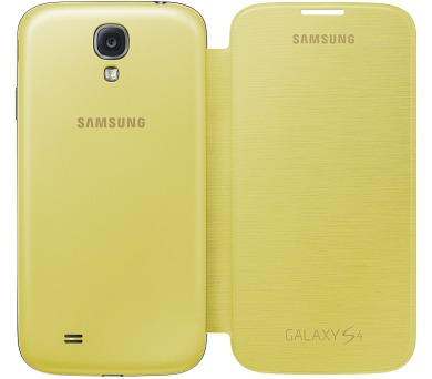Samsung pro Galaxy S4 (EF-FI950BYEG) - žluté + DOPRAVA ZDARMA