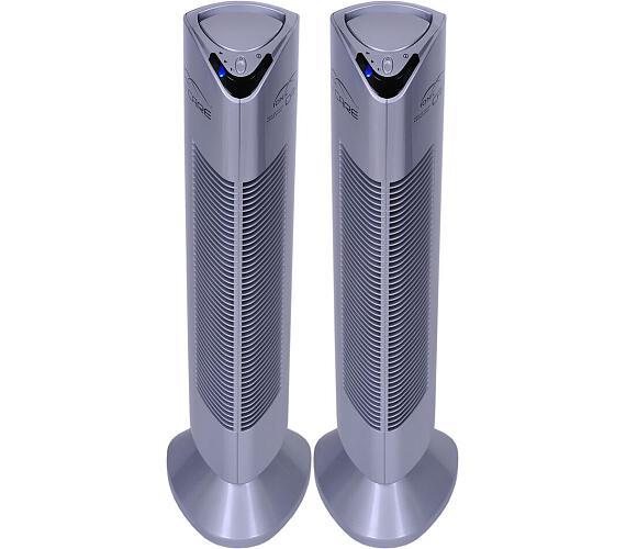 SET Čistička vzduchu Ionic-CARE Triton X6 s ionizátorem stříbrná + Čistička vzduchu Ionic-CARE Triton X6 s ionizátorem stříbrná + DOPRAVA ZDARMA