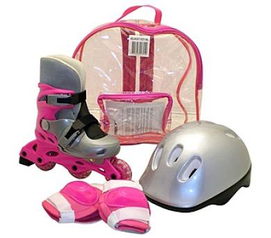 Rulyt brusle + helma + chrániče velikost S + DOPRAVA ZDARMA
