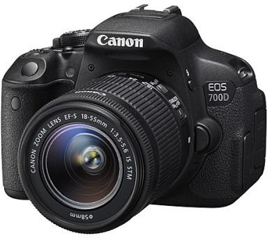Canon EOS 700D + 18-55 IS STM + DOPRAVA ZDARMA