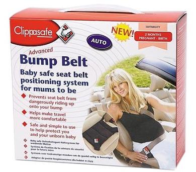 Clippasafe do auta pro těhotné