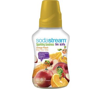 Sodastream 750 ml Orange Peach Good-Kids