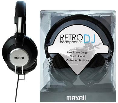 Maxell 303517 RETRO DJ WHITE