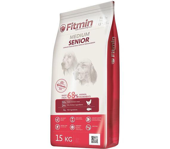 FITMIN dog Medium Senior - 15 kg