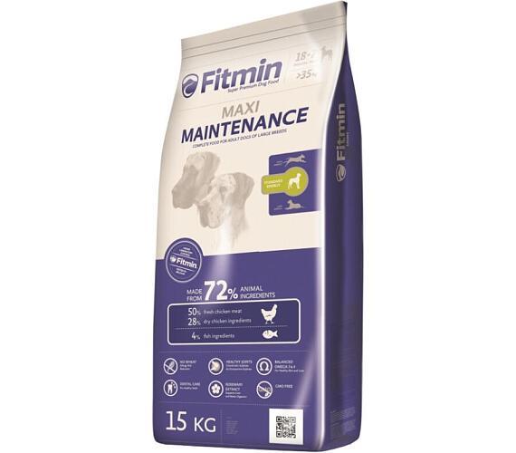FITMIN dog Maxi Maintenance 15 kg + plyšová hračka Lev