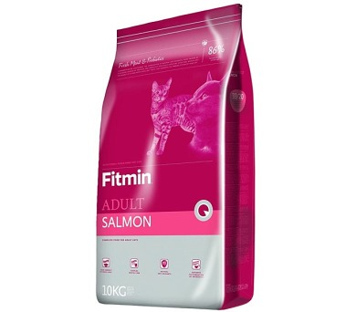 FITMIN cat Adult Salmon - 10 kg