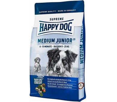 Granule HAPPY DOG MEDIUM Junior 25 10 kg