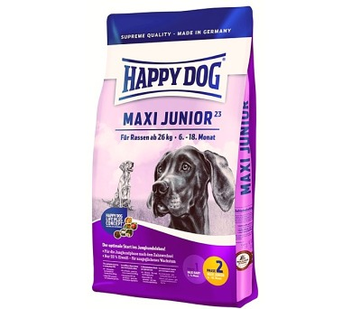 Granule HAPPY DOG MAXI Junior GR 23 15 kg