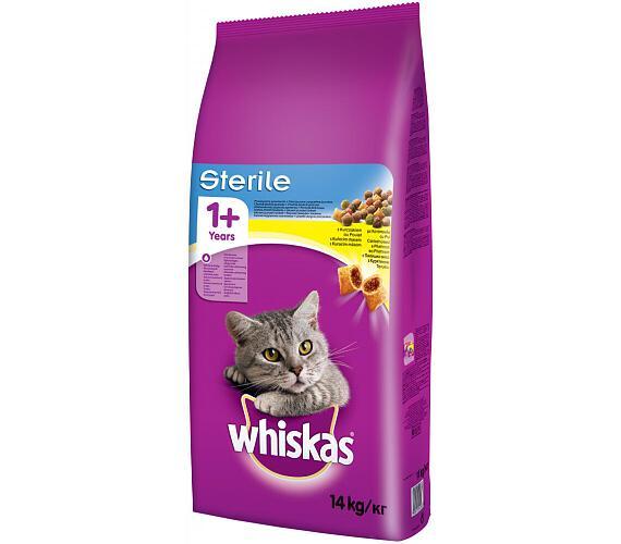 Whiskas Sterile s kuřecím masem 14 kg + DOPRAVA ZDARMA