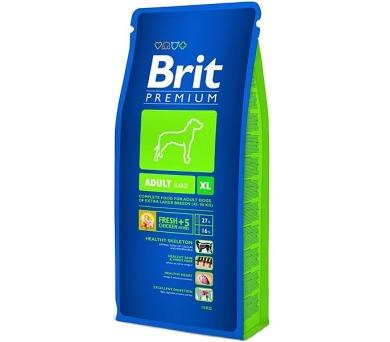 Brit Premium Dog Adult XL 15 kg + DOPRAVA ZDARMA